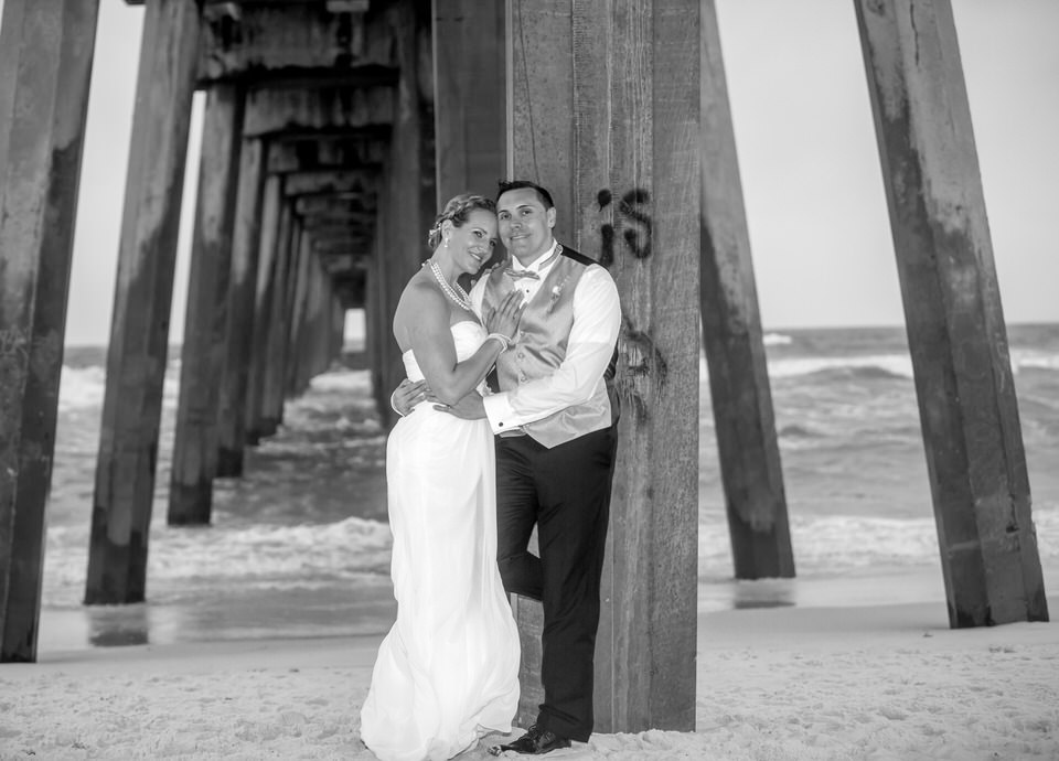 beach wedding in al