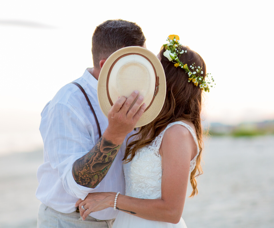 hat wedding