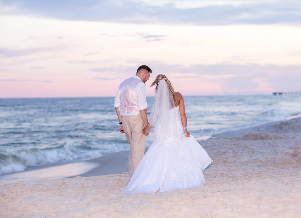 wedding sunset photography