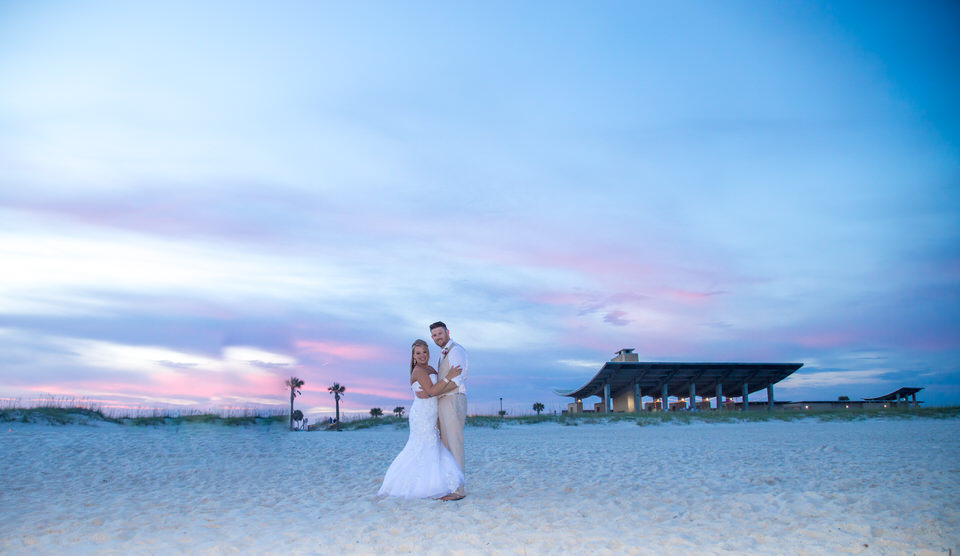 pavillion beach wedding gulf shores alabama
