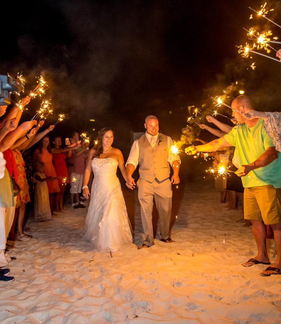 perdido key beach reception wedding