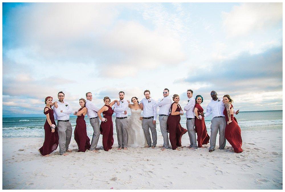 30 Beach WEdding at Sunset in Florida.jpg