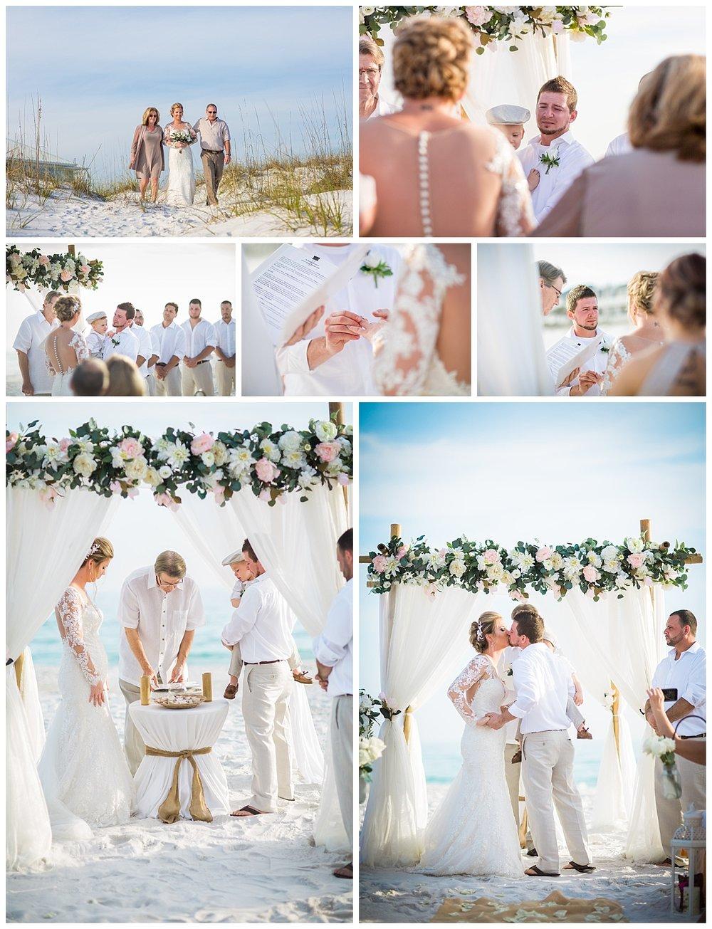 Wedding Ceremonies in Pensacola Beach