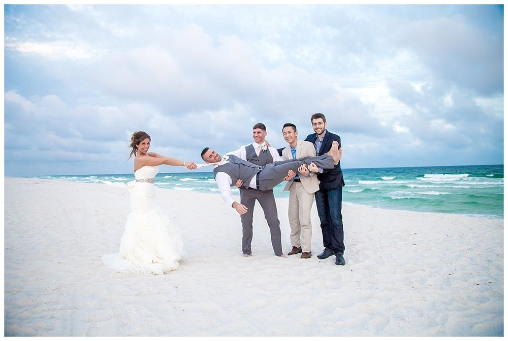 Fun Bridal Party Pictures