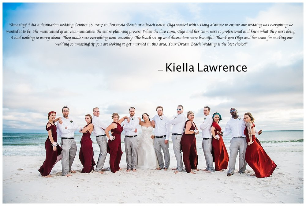 weddings in Pensacola Beach