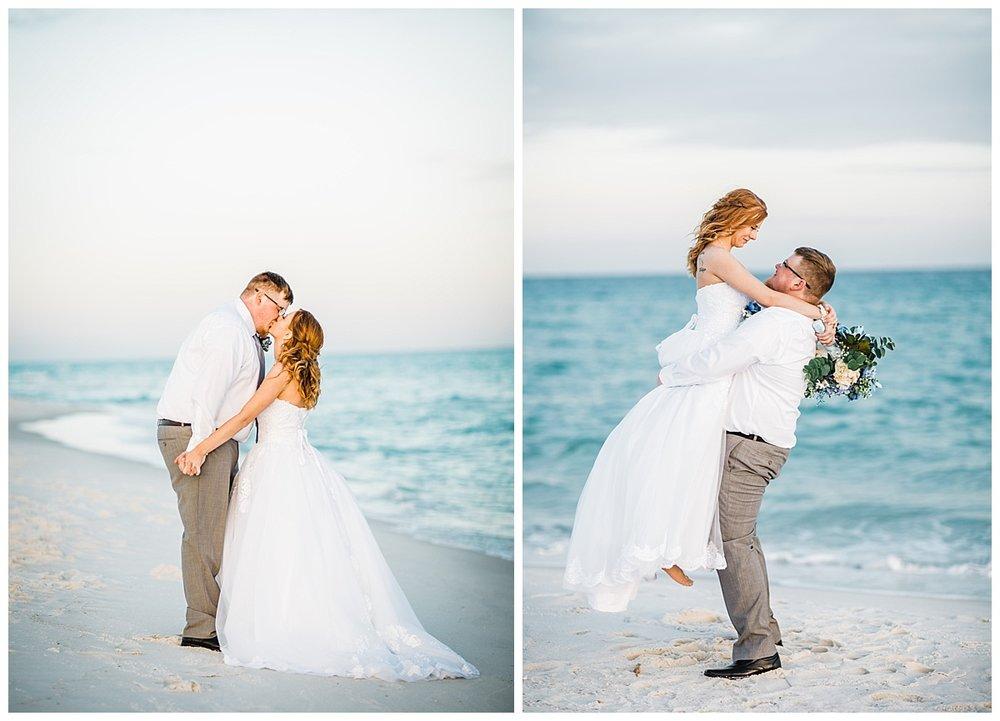 Wedding Poses Ideas for Pensacola Beach Wedding