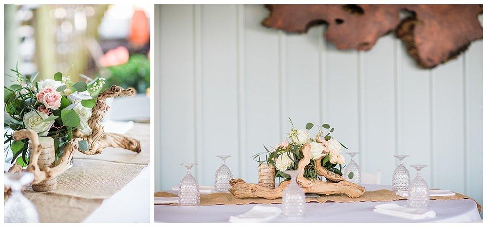 Reception Decor for Pensacola Beach Weddings