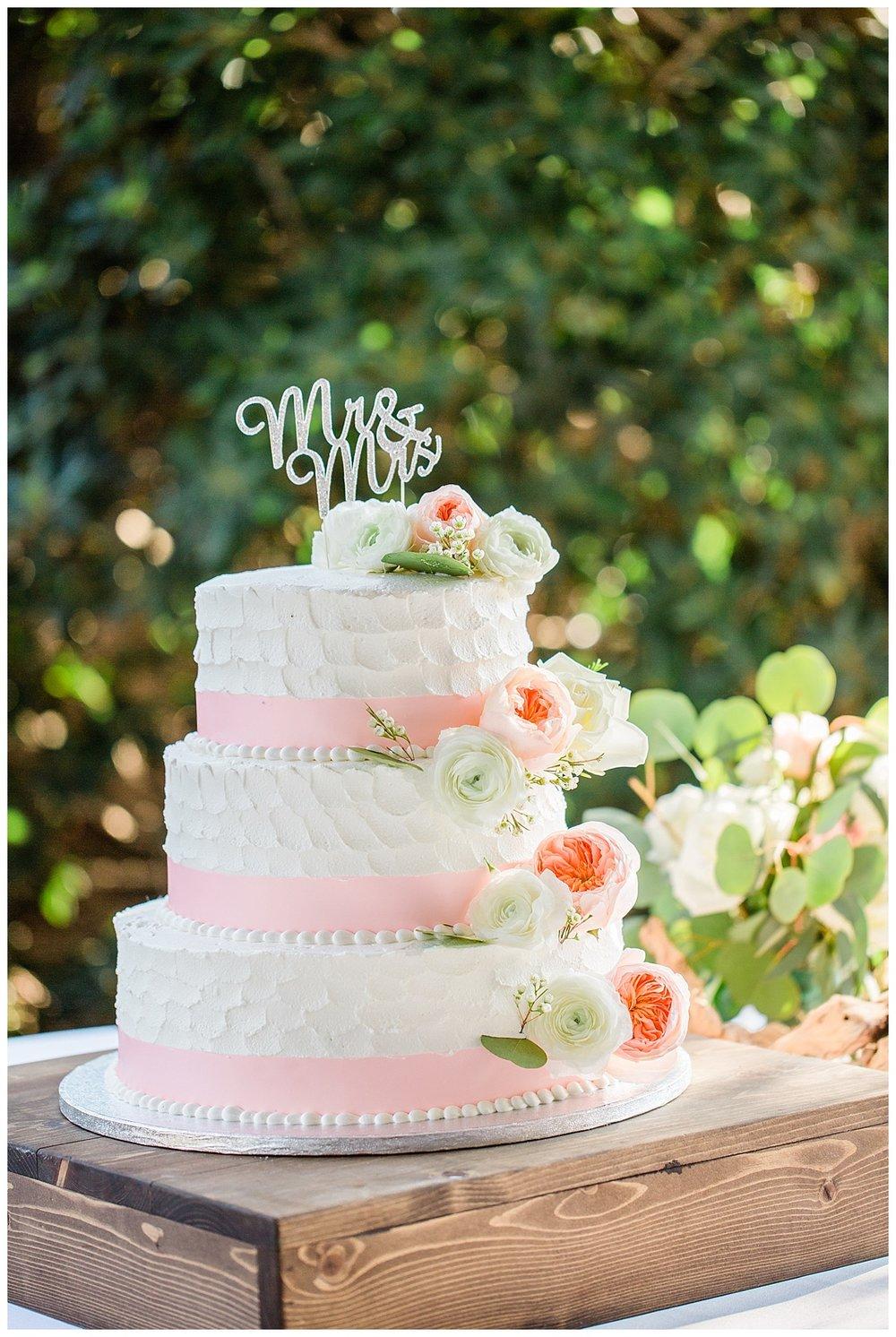 Wedding Cake in Pensacola Beach