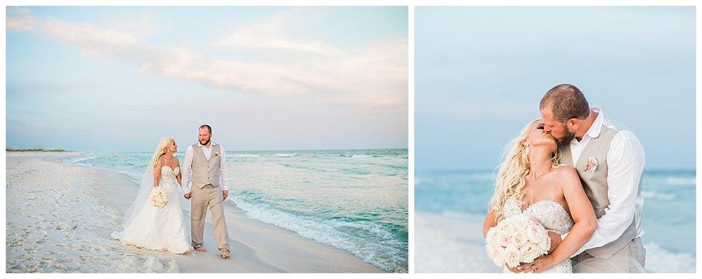 Sunset Romantic Beach Weddings