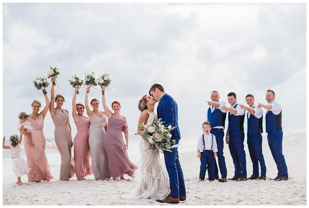 Wedding Party in Orange Beach