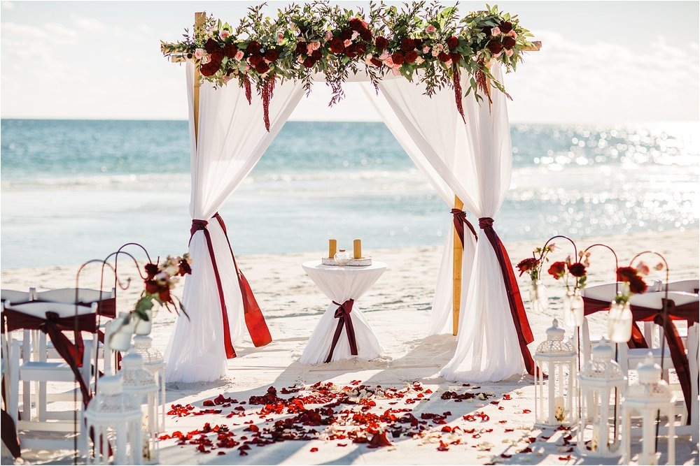 Wedding Arches for rent in Pensacola Beach