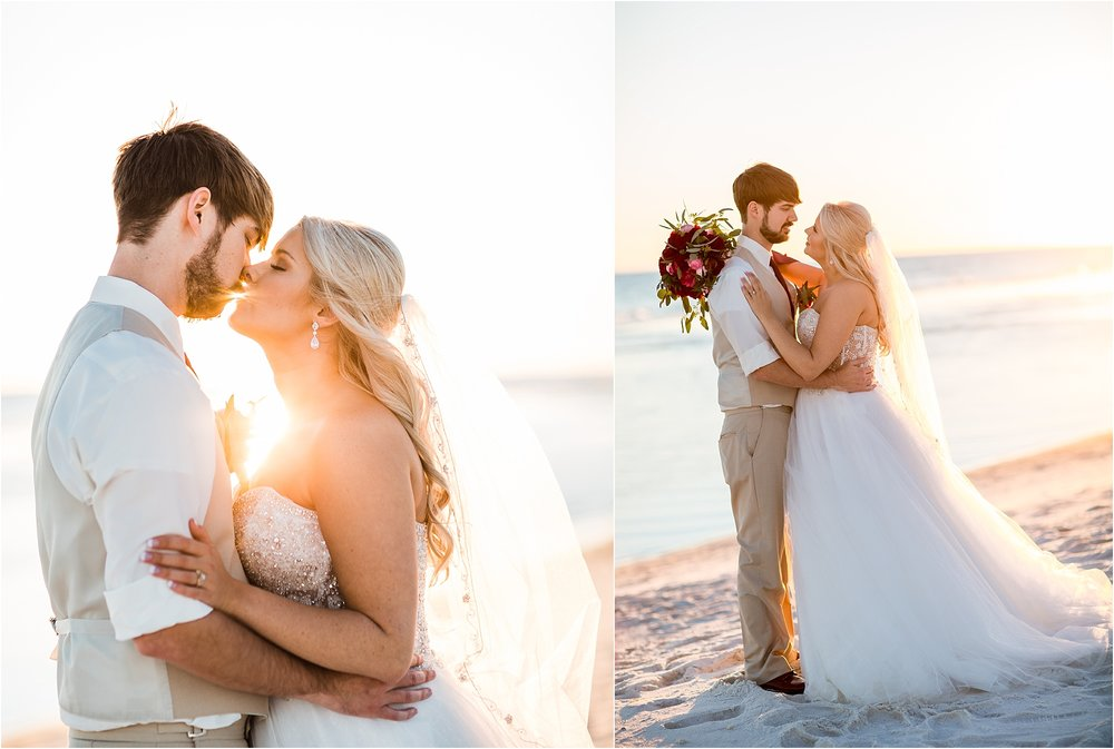 Romantic Sunset Weddings in Pensacola Beach