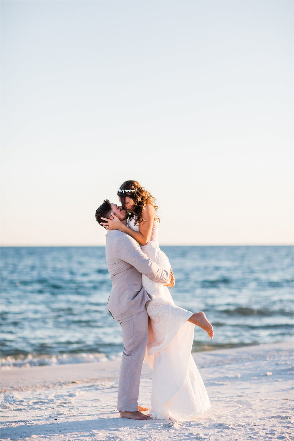 Sunset Beach Weddings in Pensacola Beach