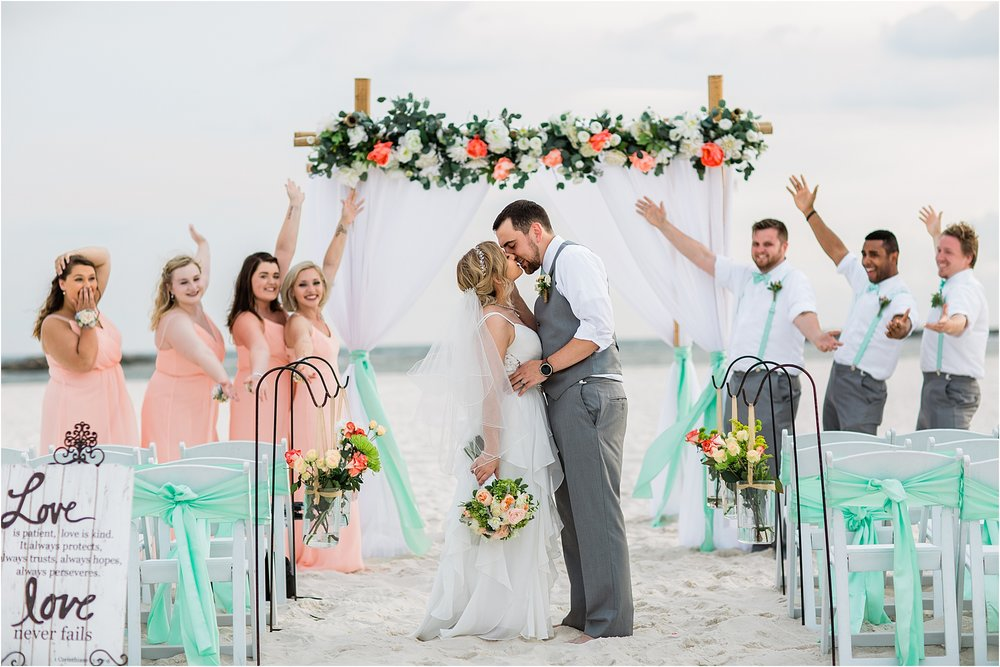 Bridal Party Pictures Ideas for Gulf Shores Weddings
