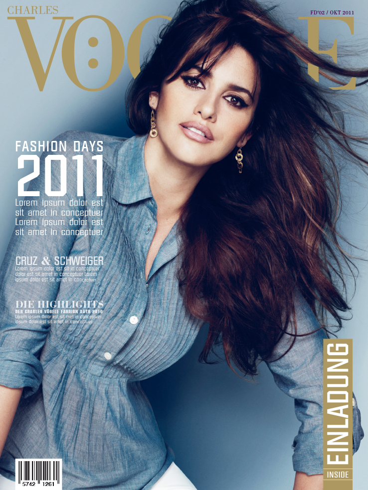 Konzeptidee Magazin Fashion Days
