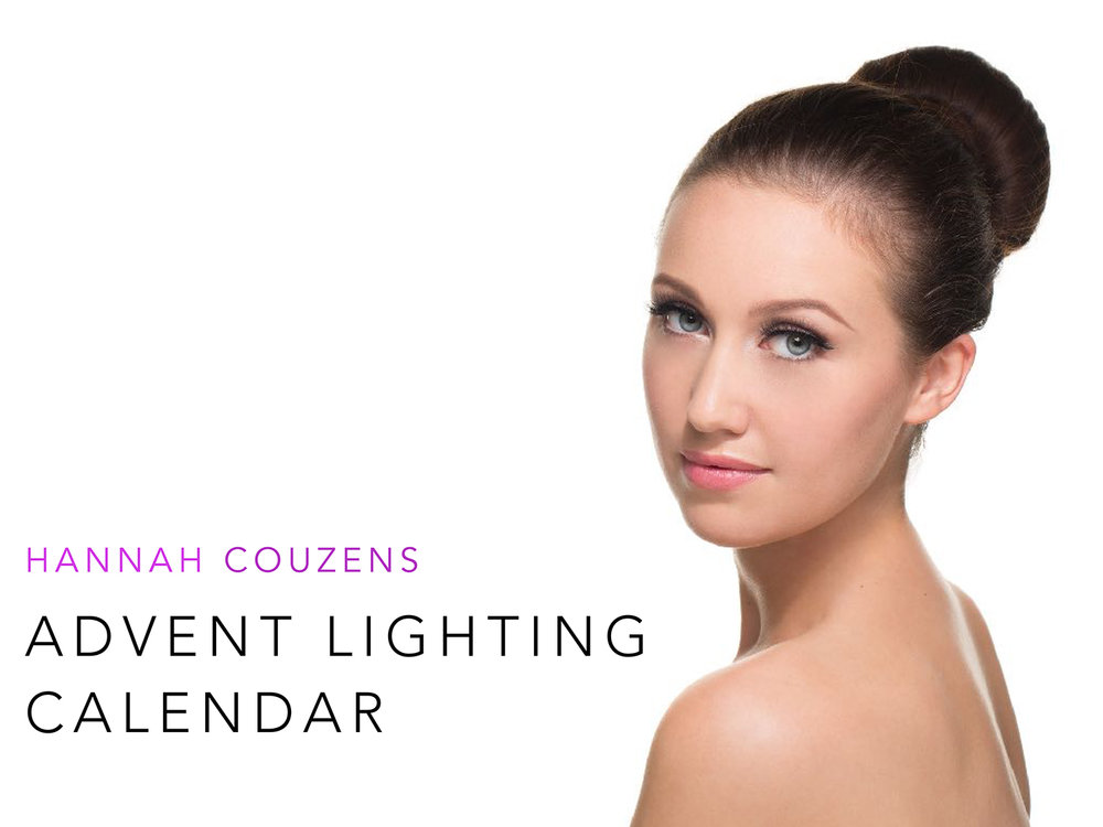 In case you missed it, in December 2016 I made an advent calendar of lighting. Each day a new lighting set up was revealed. Now all together in one PDF this is available for a free download. Just email downloads@learnwithhannah.com and an automated response will send you a password to open the document. Enjoy!