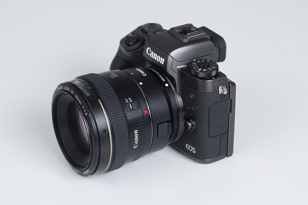 Canon M5 W/ 50mm Lens