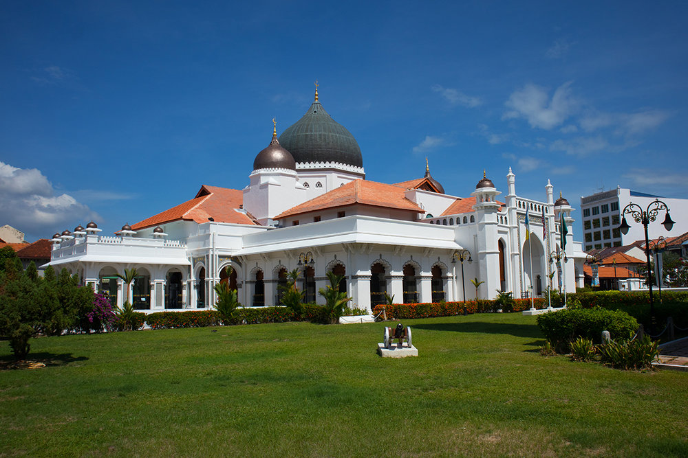 Mosque in Georgetown, Penang, Malaysia