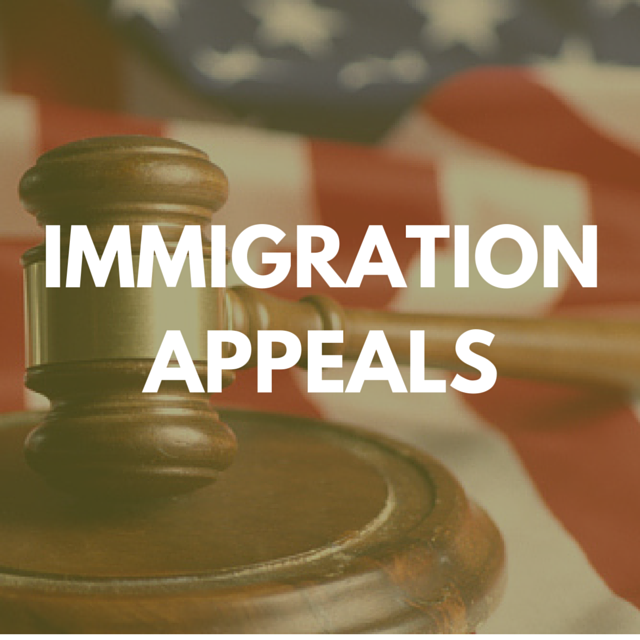 IMMIGRATION APPEALS
