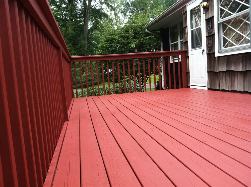 solid stain for decks power wash stain red sky painting