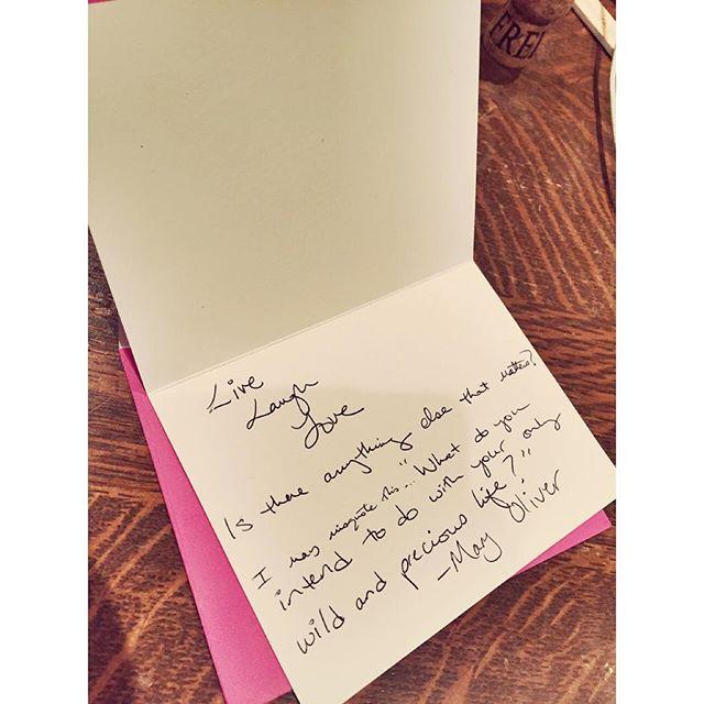 #boxoflettersproject #letter @galleryluperca 2/12/16 #handwritten