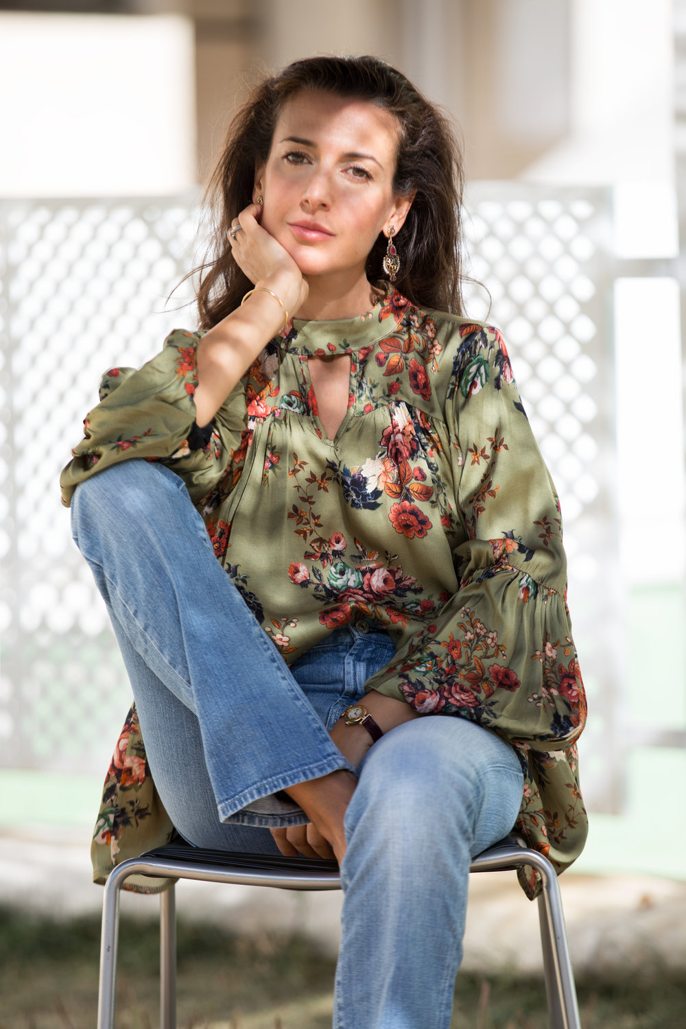 ROMANTIC BLOUSE TO WEAR WITH YOUR JEANS  NOVEMBER 20, 2017 - With a romantic blouse you will look wonderful day and night, a touch of feminine whimsy to any outfit, a pretty contrast to blazers...read more