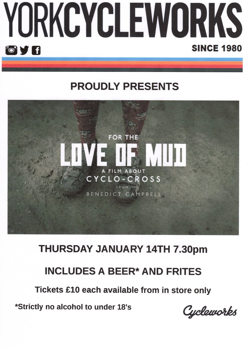 York Cycleworks film night