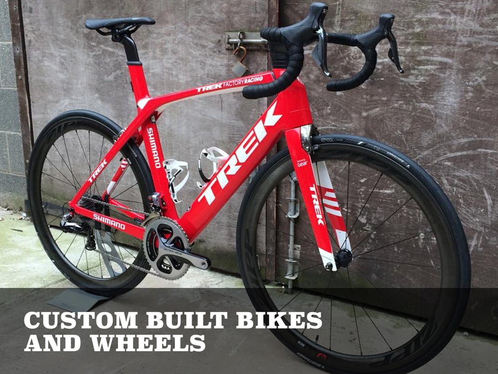 CUSTOM BUILT BIKES AND WHEELS