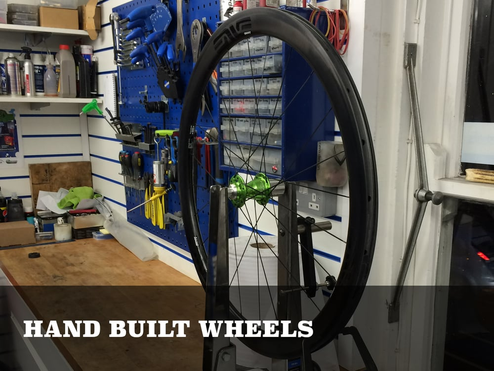 York Cycleworks hand built wheels