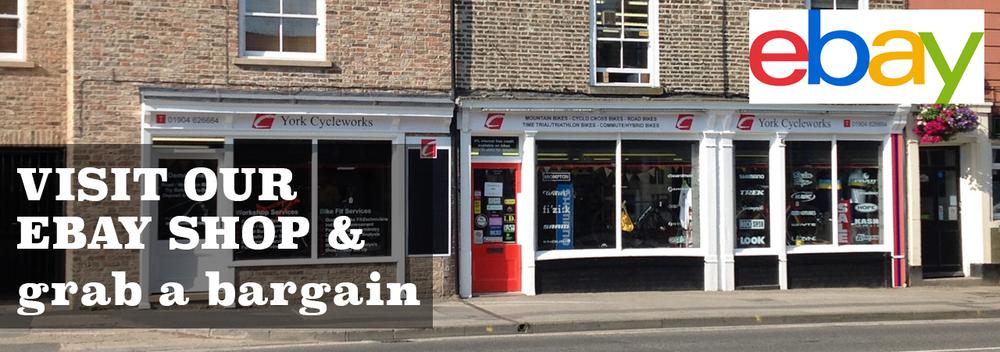 York Cycleworks ebay shop