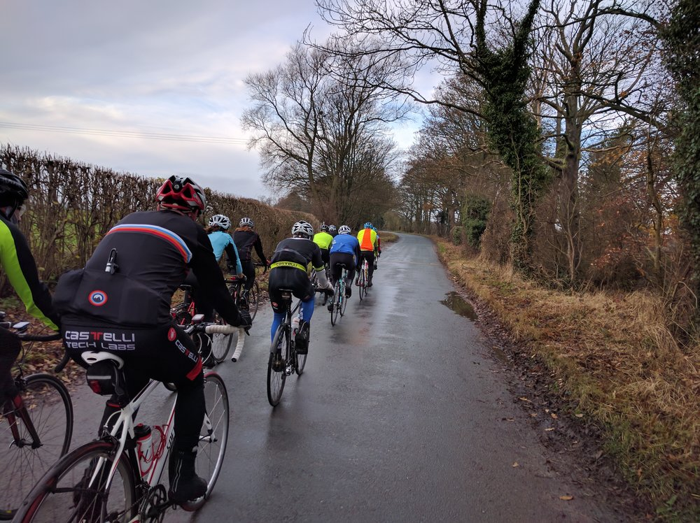 York Cycleworks Sunday Club Run