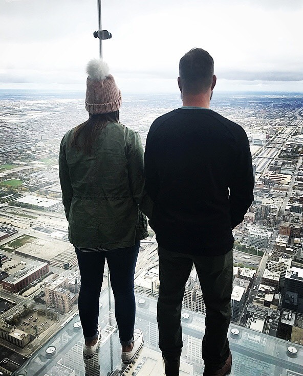 Erin + Brett were certainly gazing toward the horizon on their recent trip to Chicago.  What are you looking forward to in 2018?  Make it your resolution to Travel More + Stress Less: we do the work, you Pack Up + Go!