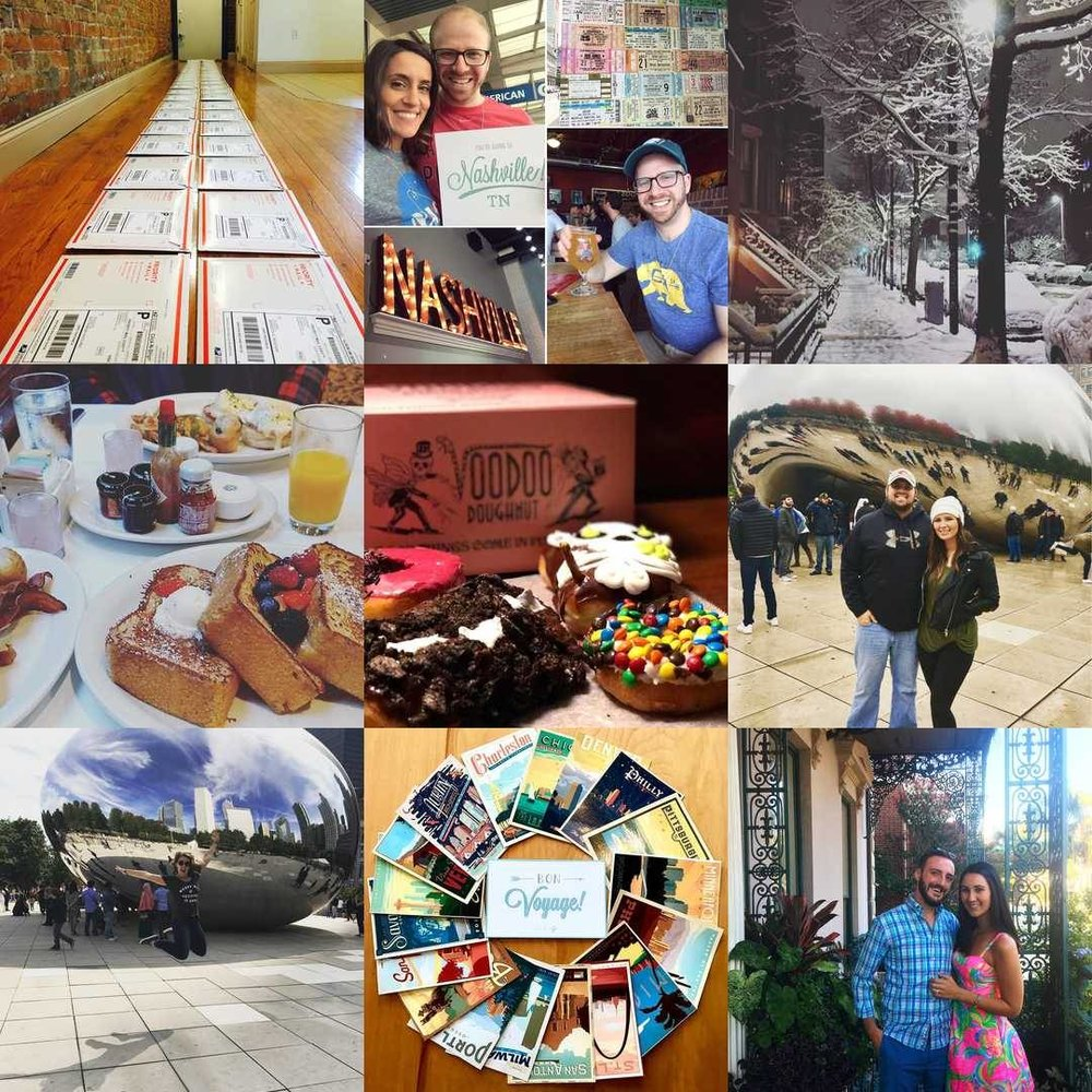 Pack Up + Go was able to share a lot of #amazing #experiences with you over 2017! Here are our #2017bestnine!  Thank you for joining + we can't wait to share more in 2018!