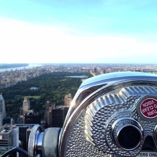 ustraveldiary-blog :    Can't wait to return #NYC      #newyorkcity #newyork #ny #rockerfeller #manhattan #centralpark #throwback #tbt #ustraveldiary #travelporn #travelgram #instatravel (at Top of The Rock Observation Deck)