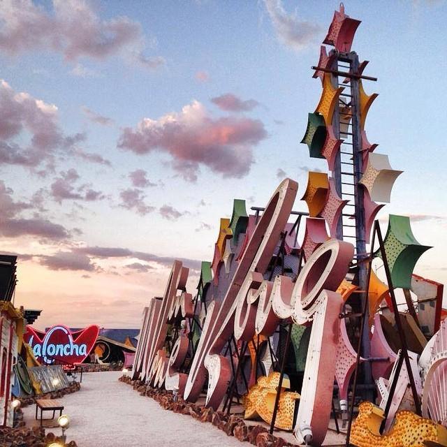ustraveldiary-blog :    Neon Graveyard, Las Vegas    #lasvegas #lv #vegas #neongraveyard #nevada #instatravel #travelgram #travelporn  (at  www.ustraveldiary.com )
