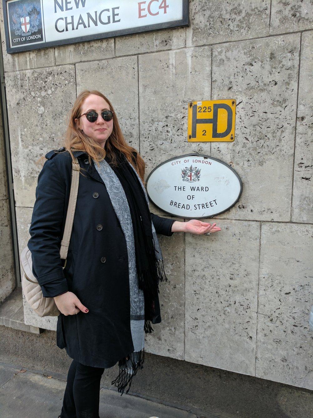 Walking around London!