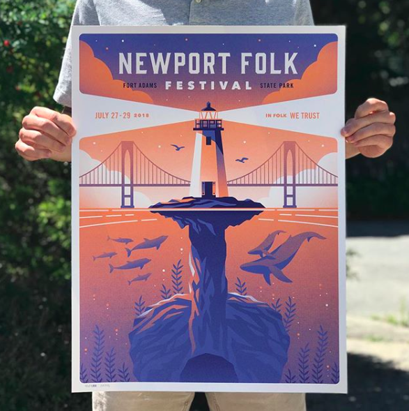 Newport Folk Festival - Newport, Rhode Island