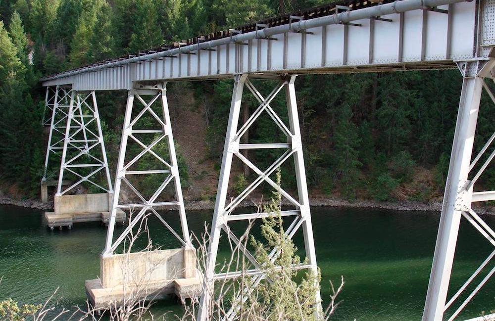 Stand By Me - Lake Britton Bridge, Burney, California