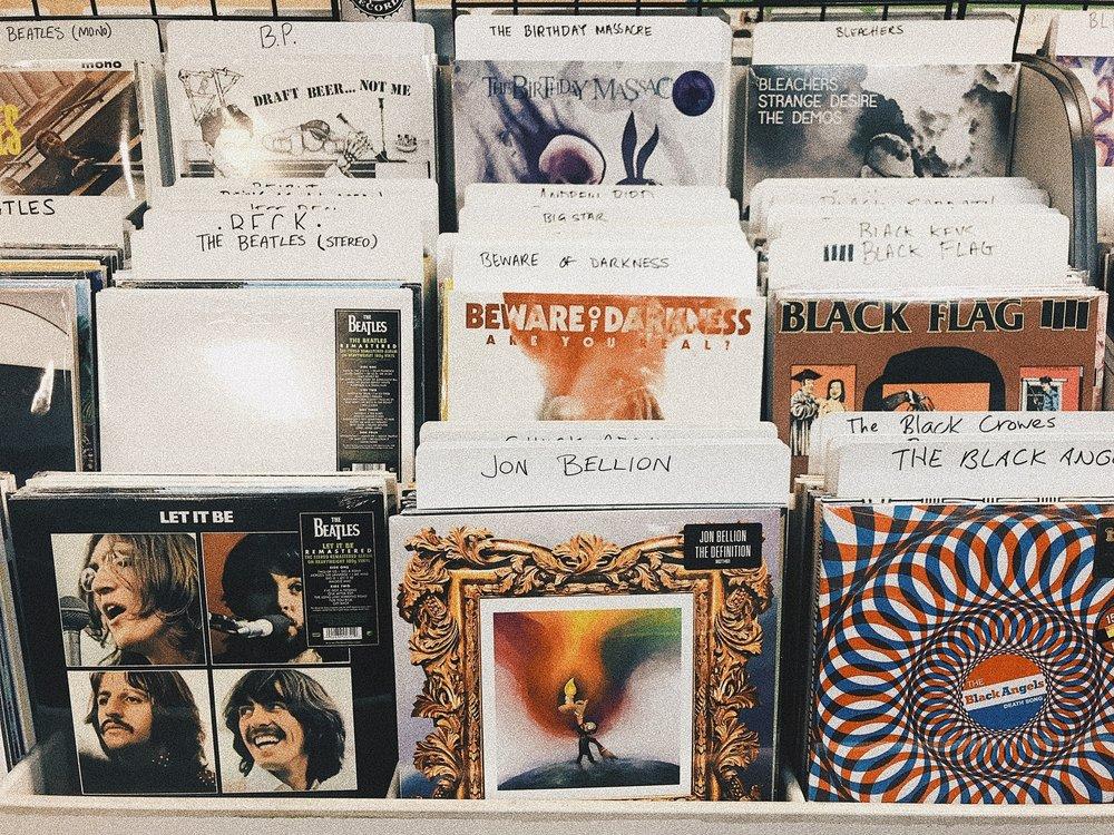 Waterloo Records - Austin, Texas