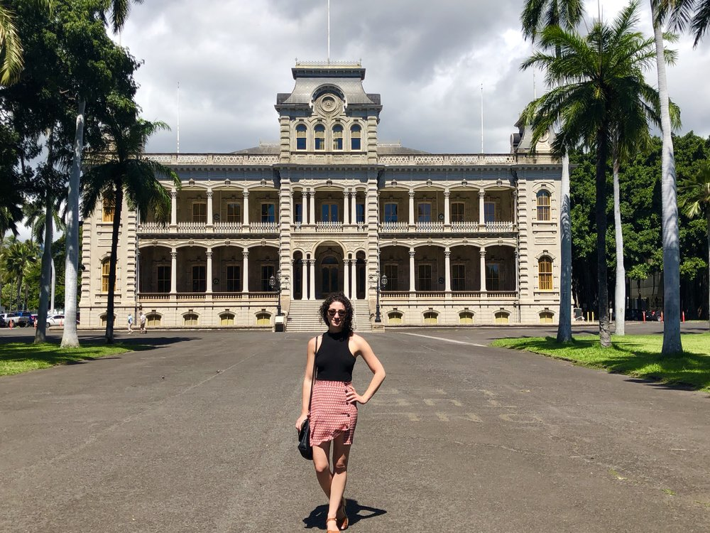 Lillian in Hawaii