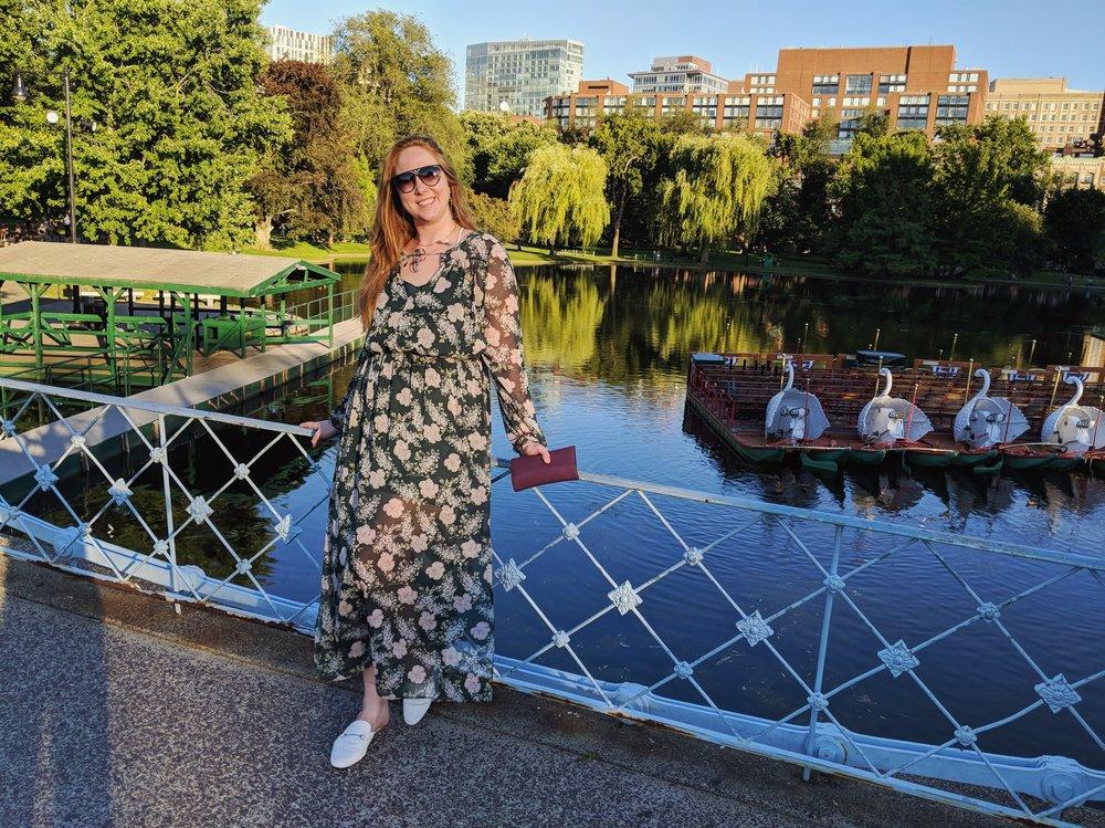 Corinne in Boston