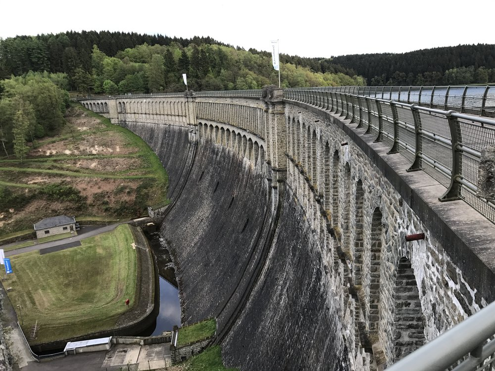 The Ennepe Dam