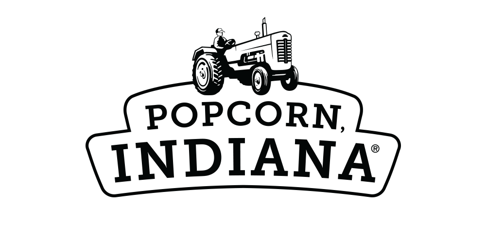 Popcorn, Indiana Refresh - When industry leader Popcorn, Indiana decided their current logo and bag design no longer reflected their product's persona, they turned to OffWhite Co for something fresh. We introduced a series of designs placing tasteful emphasis on callouts, featuring custom typefaces, and using colors unique to this space that not only starkly contrast with P,I's previous packaging, but also far eclipse the competition in shelf appeal.