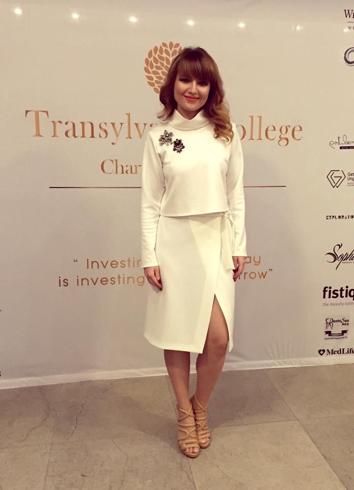 Tinuta Ingrid Teodosiu @ Transylvania College Charity Ball