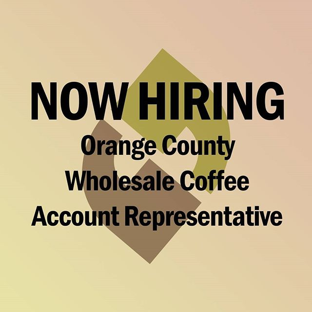 Go to tinyurl.com/klatchcoffeesales for more information about this position