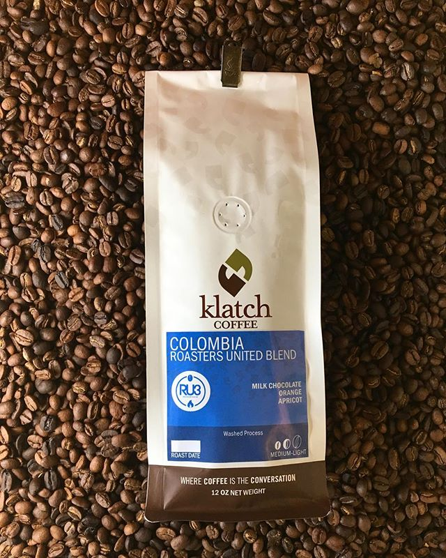 Today we feature, Colombia Roasters United Blend! Not only is this direct trade blend delicious, with flavors of milk chocolate, orange citrus, and apricot, but it is also a part of our mission to support global farmers that grow, harvest, and process the coffee. Read more about the Roasters United (RU3) competition blend online.  Today only, receive 15% off your purchase of Colombia Roasters United Blend with the code NCD15 at checkout. #roastersunited