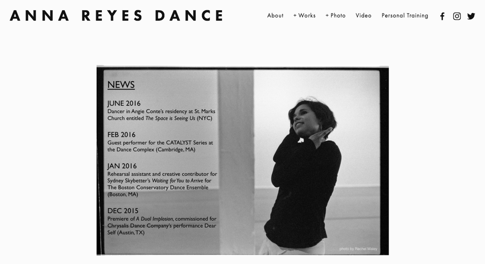 Personal Training Anna Reyes Dance