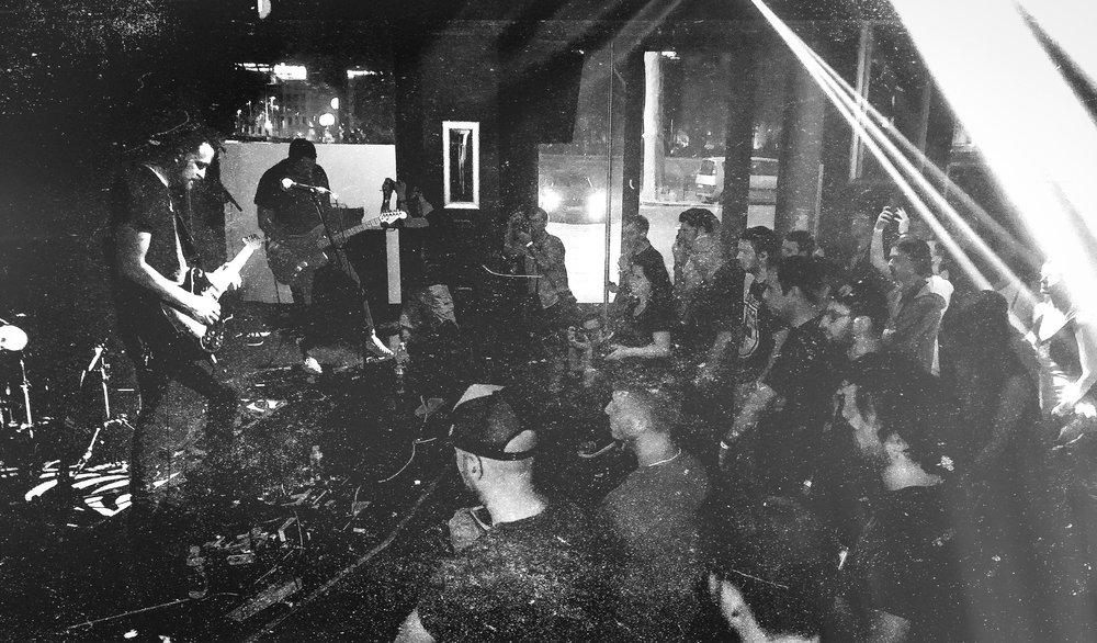 RANGES at The Hard Rock Cafe in Lyon, France.