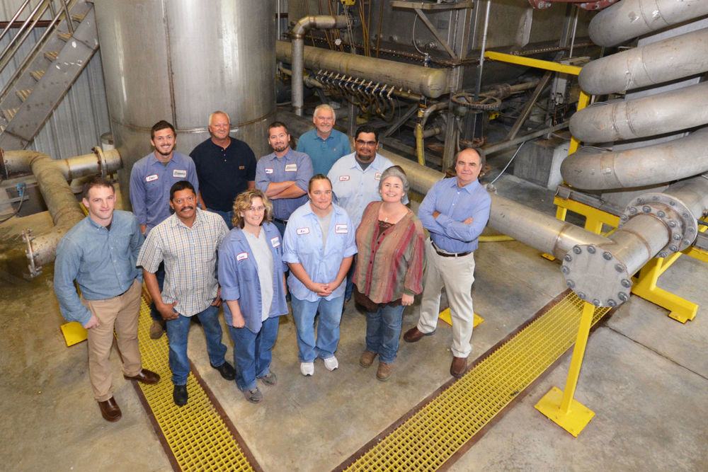 Simmons Foods Southwest City Wastewater Team   Front row (Left to Right)  Seth Walters, Jose Rodriguez, Cassie Carpenter, Kim Gould, Wendy flaming, Mike Davis  Back Row (Left to Right)  John Graham, Larry Smith, Mike Woods, Andy Brashear, Jose Gonzalez.