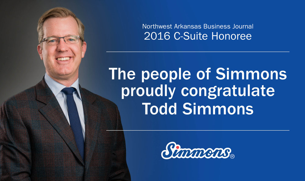 Todd Simmons, CEO of Simmons Foods, is a C-Suite Honorree